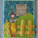 Whimsical Retirement Card