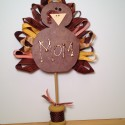 Thanksgiving Table Turkey Place Card