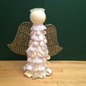 Ribbon & Foil Angel Tree Topper