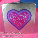 Foiled Valentine's Day Tin Card