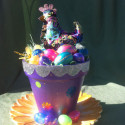 Dazzling Easter Chick and Eggs with Bling!