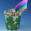 St. Patrick's Day Foiled Lucky Pot O'Gold