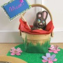 Mini Easter Basket Place Card Holder