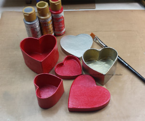 Kool Tak Valentine Box Stack paint boxes CWindham