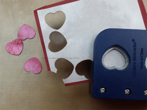 Kool Tak Valentine Box Stack punched hearts CWindham